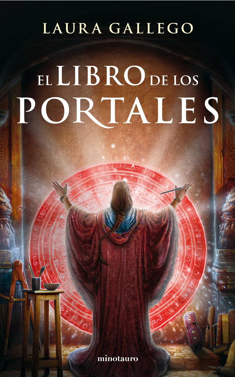 El libro de los portales - Laura Gallego Portada