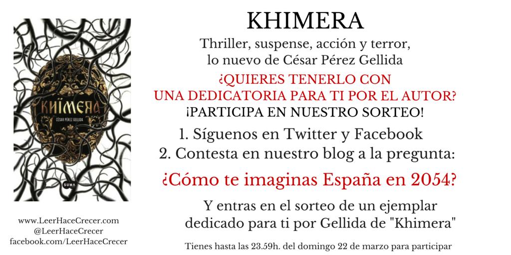Khimera Imagen Sorteo