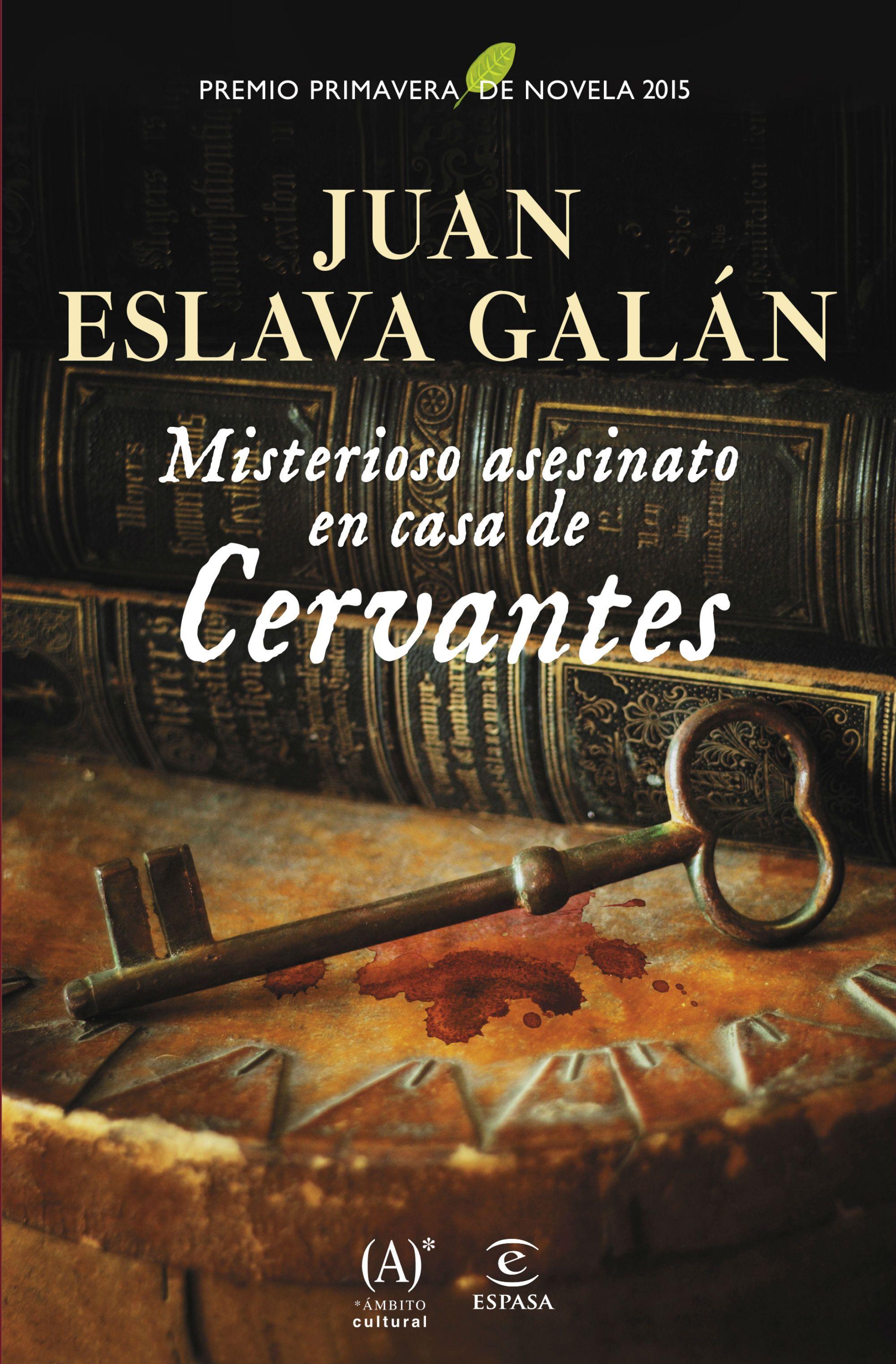 Misterioso Asesinato en casa de Cervantes - Portada