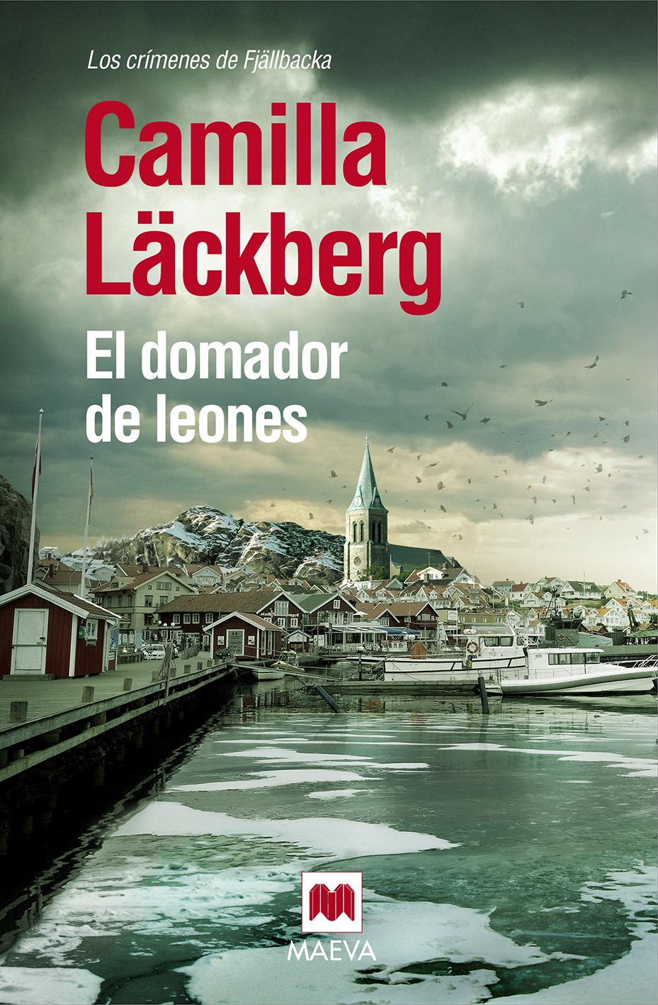 El domador de leones - Camilla Lackberg (Portada)