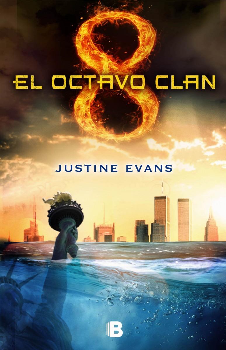 El octavo clan - Justine Evans Portada