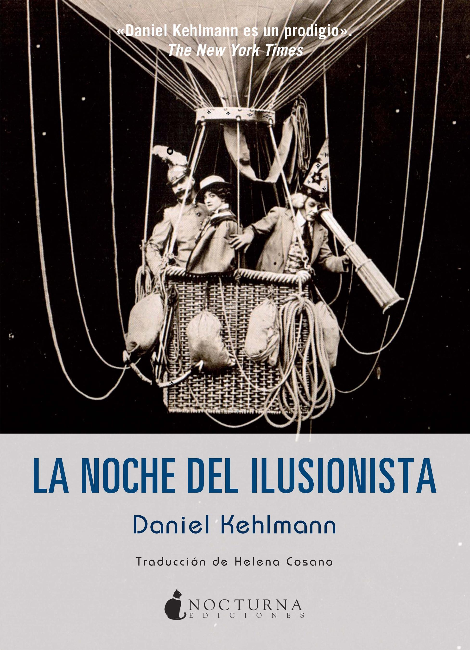 La noche del ilusionista - Daniel Kehlmann Portada