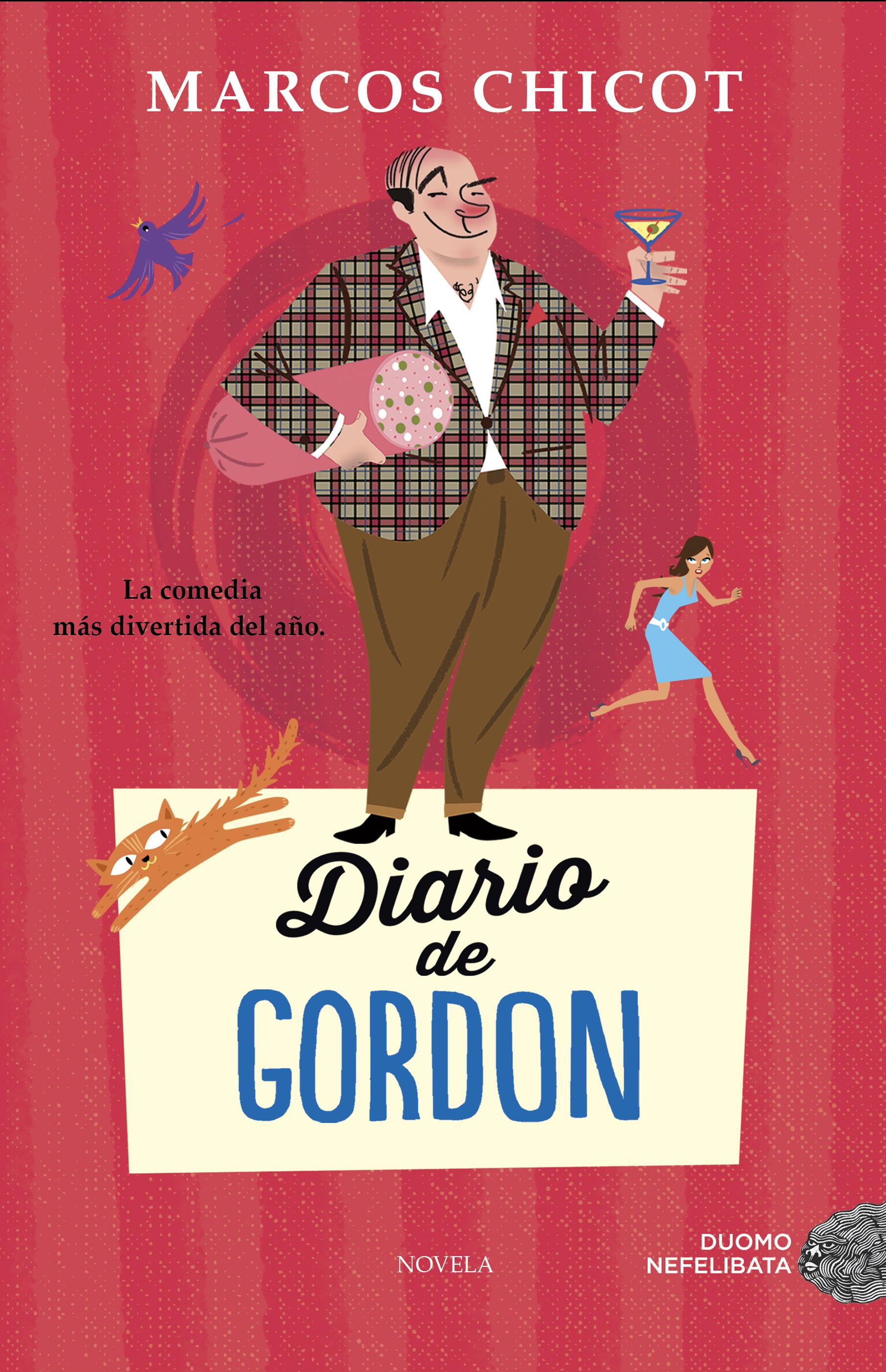 Diario de Gordon - Marcos Chicot Portada