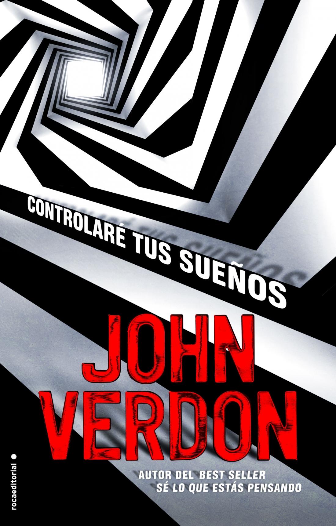 Controlare tus sueños - John Verdon Portada