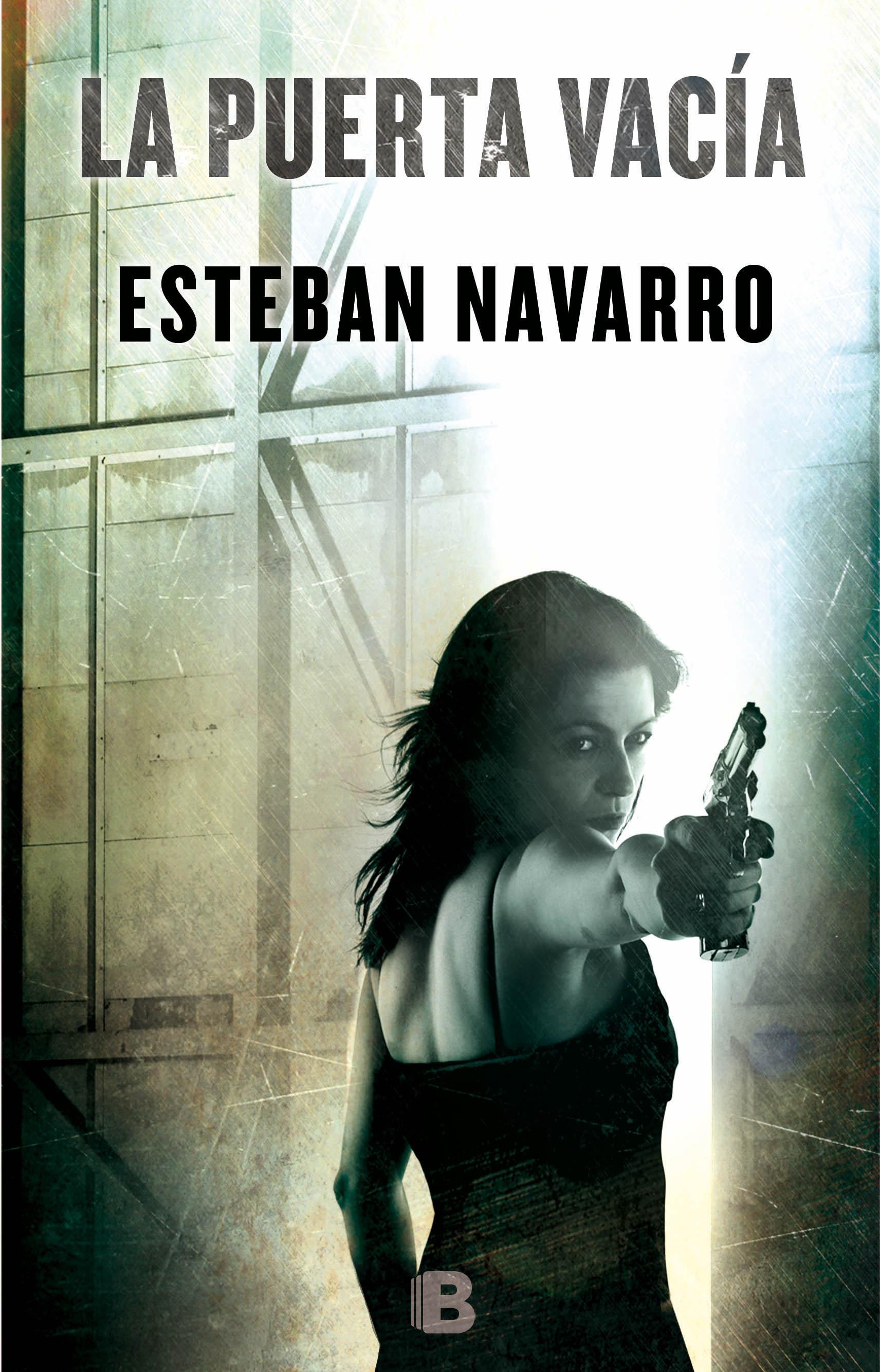 La puerta vacia - Esteban Navarro Portada