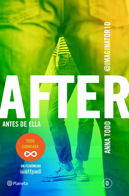 After Antes de ella - Anna Todd Portada