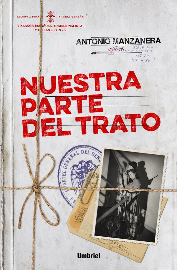 Nuestra parte del trato - Antonio Manzanera Portada
