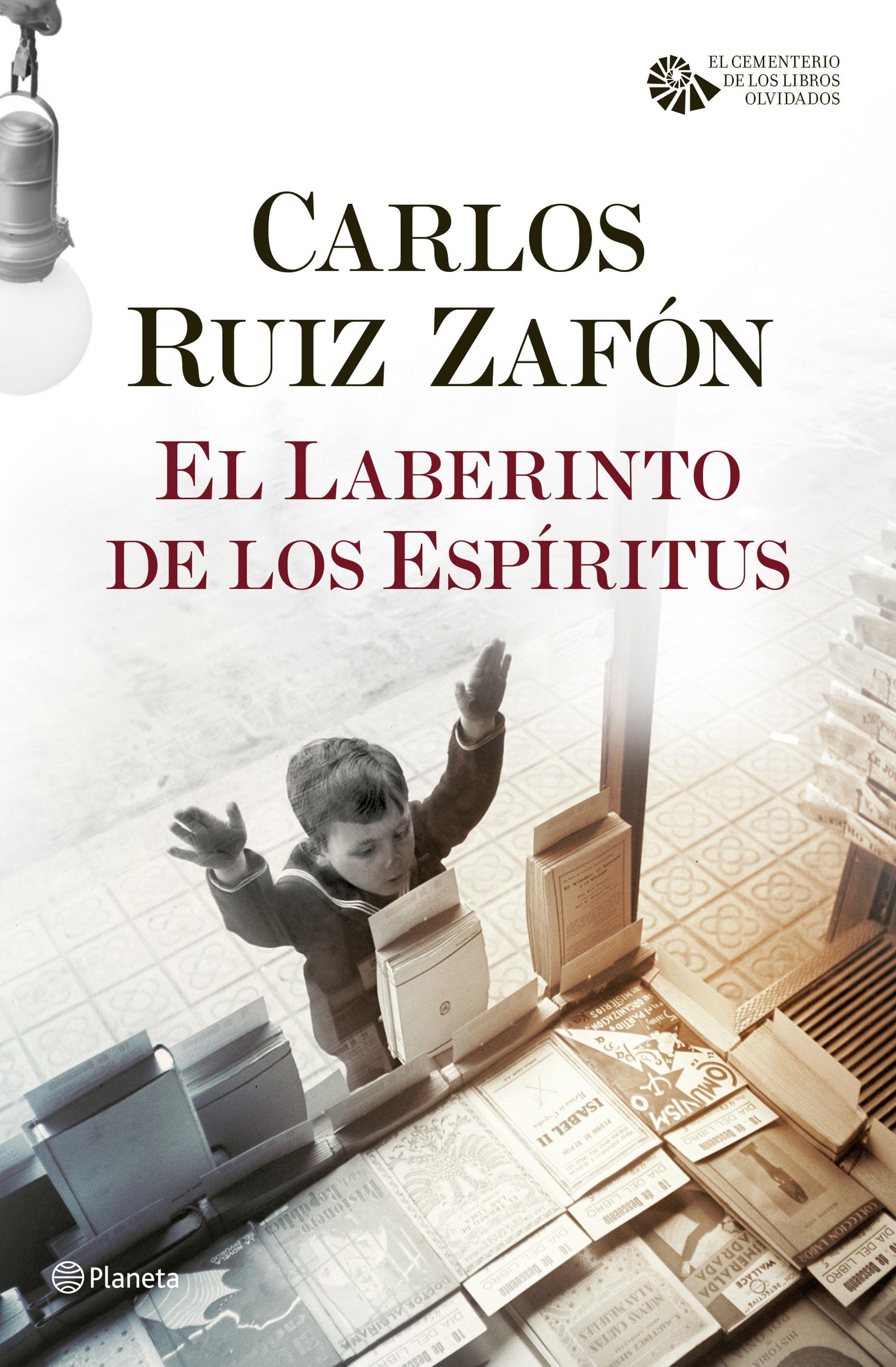 El Laberinto de los Espiritus - Carlos Ruiz Zafon Portada